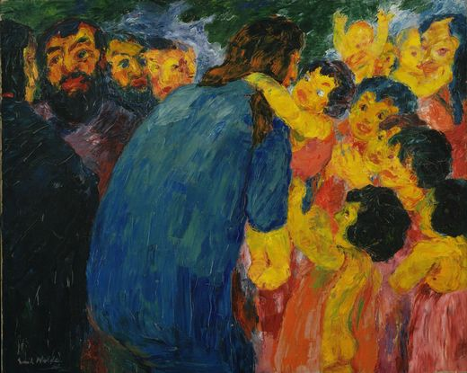 Emil Nolde Christ and the Children