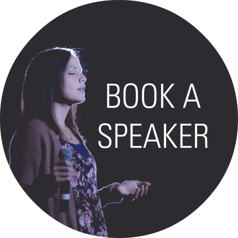 book a speaker circle
