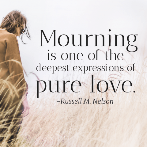 mourning pure love